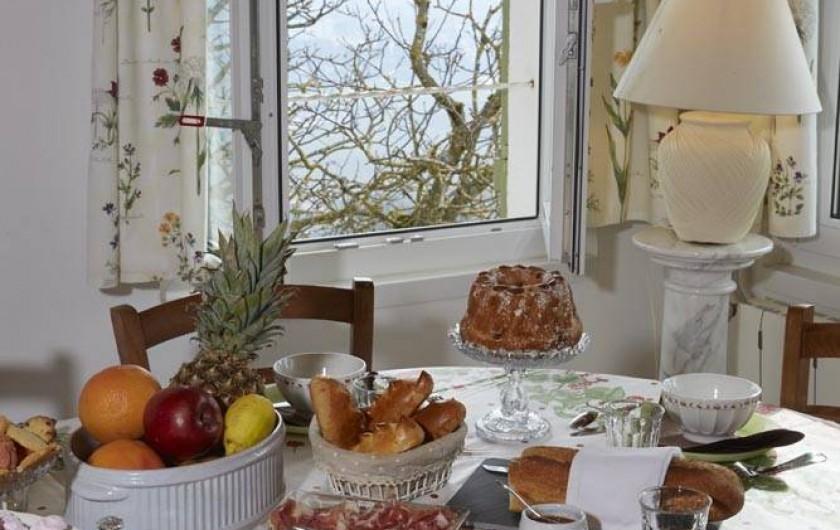 Location de vacances - Chambre d'hôtes à Beaune - Petit déjeuner fait maison