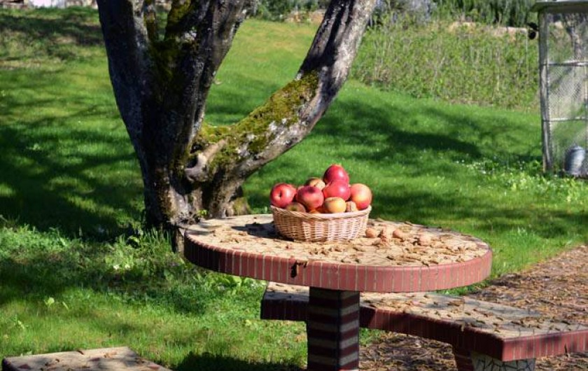Location de vacances - Chambre d'hôtes à Beaune - Le jardin