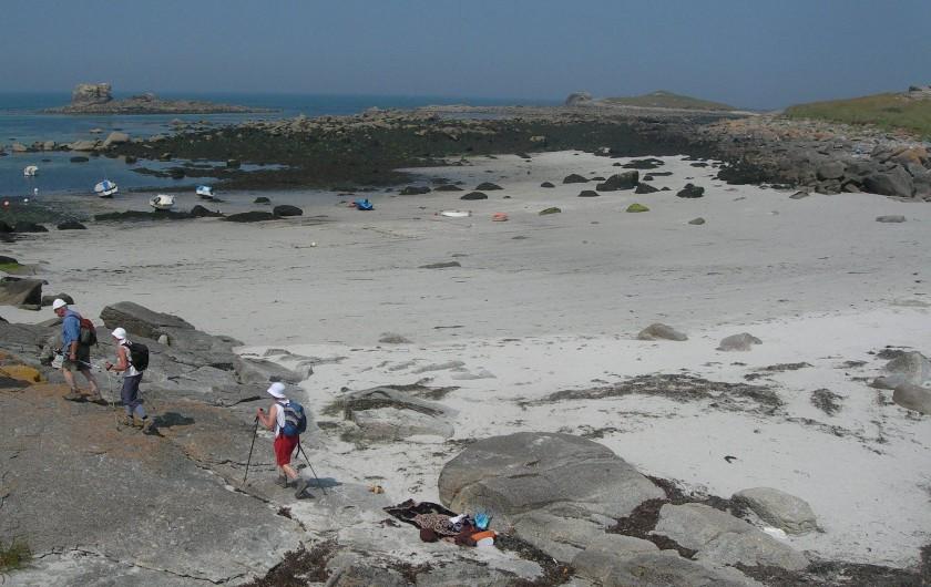 Location de vacances - Villa à Portsall - A 2mn de marche vers le Nord, par la dune !