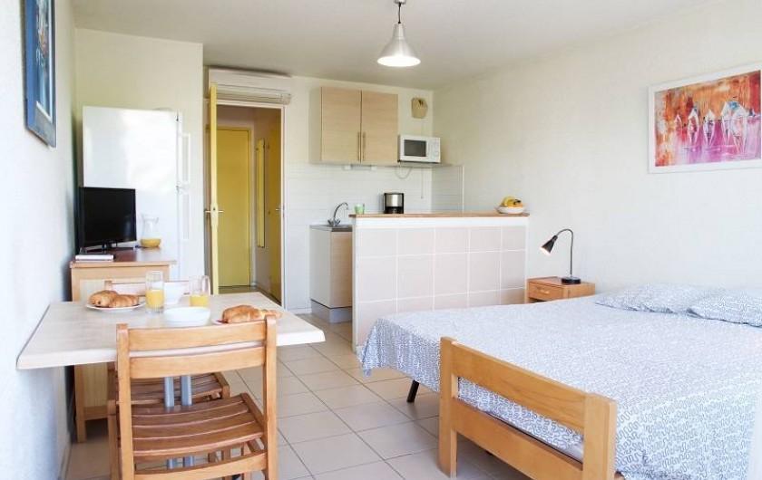 Location de vacances - Appartement à Le Grau-du-Roi - Nos studios tous équipés de kitchenette