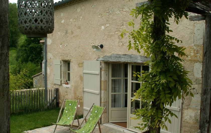 Location de vacances - Gîte à Lectoure - La terrasse ouest