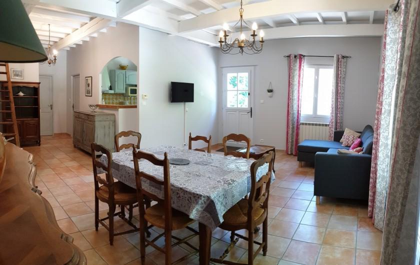 Location de vacances - Gîte à Arles - Séjour - coin repas