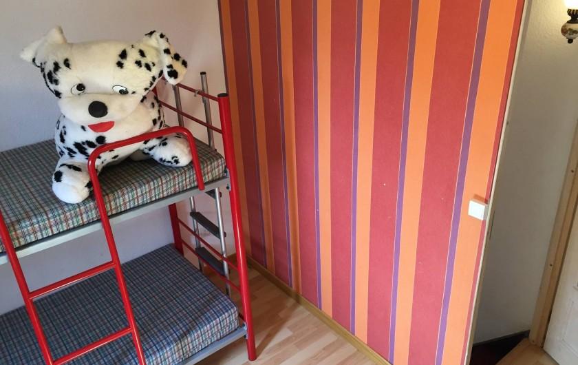 Location de vacances - Villa à Le Barcarès - Chambre 1 er étage
