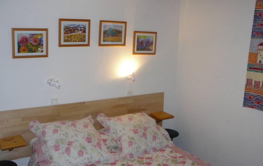 Location de vacances - Villa à Le Barcarès - Chambre principale