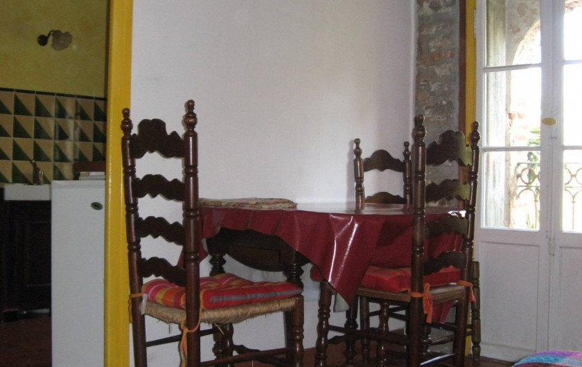 Location de vacances - Appartement à Collioure - salle à manger