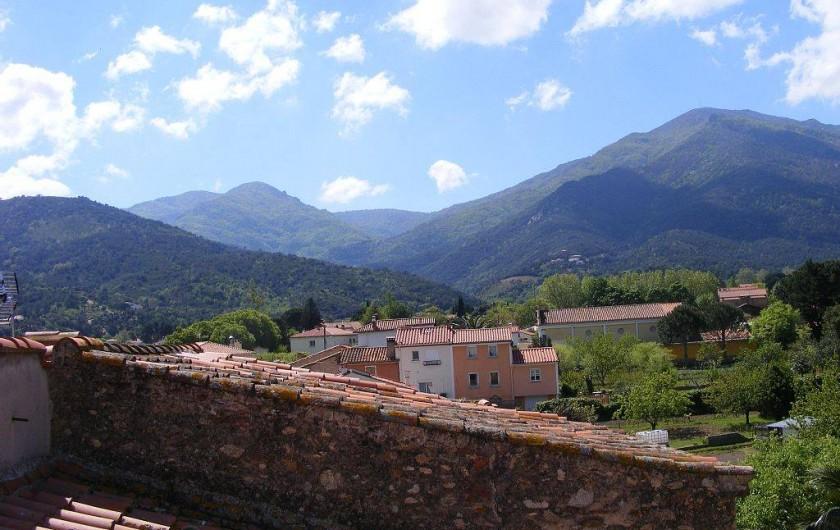 Location de vacances - Maison - Villa à Sorède - Paysage vue de la maison