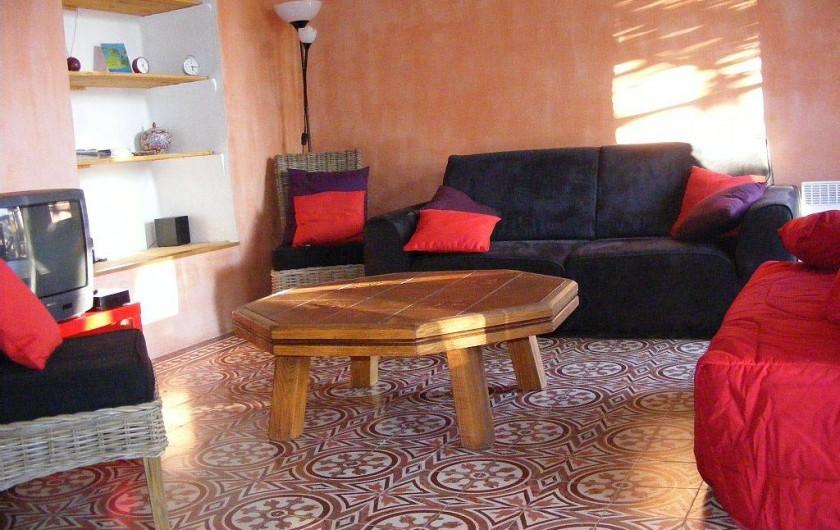 Location de vacances - Maison - Villa à Sorède - Le salon