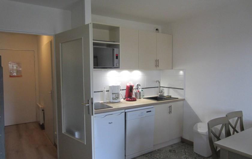 Location de vacances - Studio à Saint-Raphaël - coin cuisine