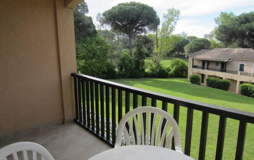 Location de vacances - Studio à Saint-Raphaël - la terrasse sud