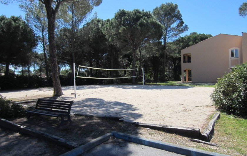 Location de vacances - Studio à Saint-Raphaël - beach volley