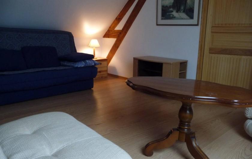 """Location de vacances - Gîte à Mons-Boubert - Salon détente """"Les côtières"""""""