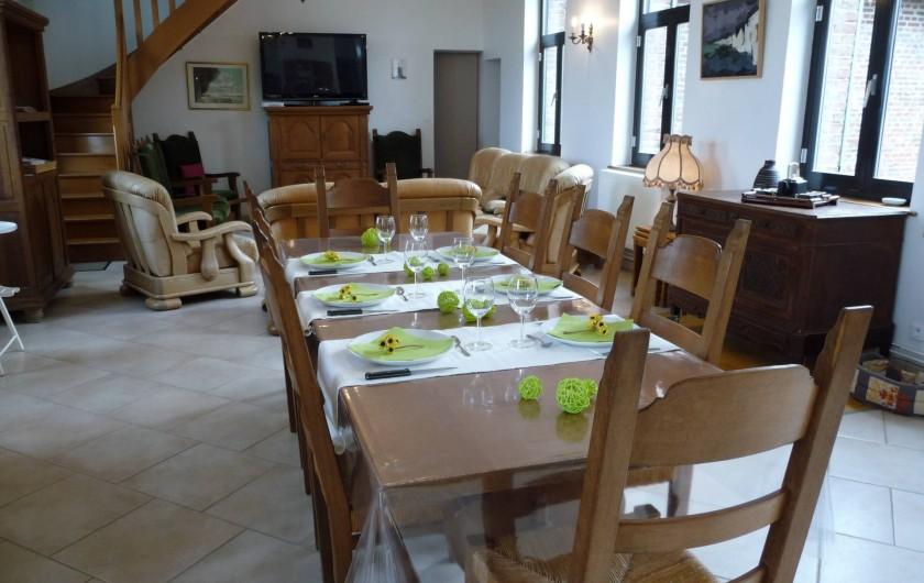 Location de vacances - Gîte à Mons-Boubert - Le séjour