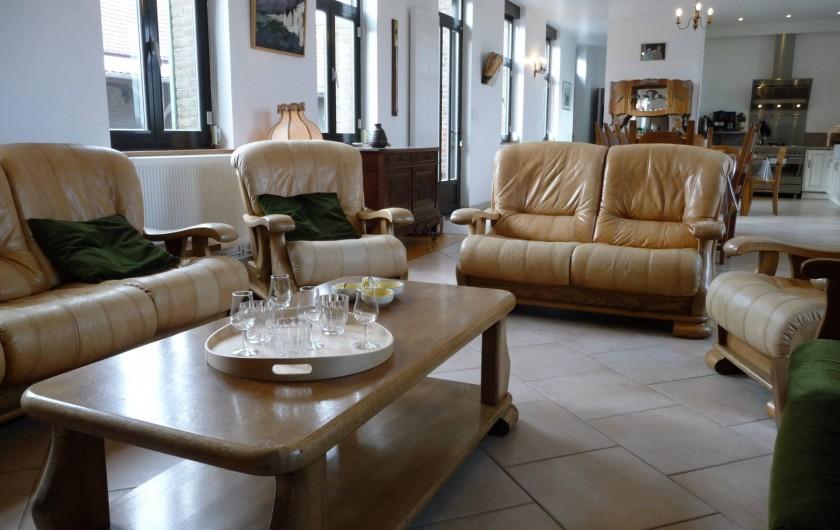 Location de vacances - Gîte à Mons-Boubert - Le salon