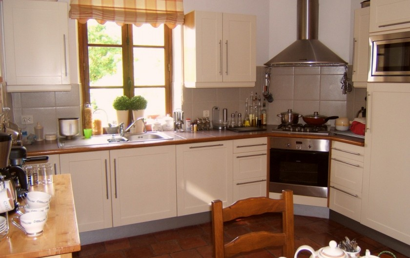 Location de vacances - Villa à Marsolan - L'espace cuisine
