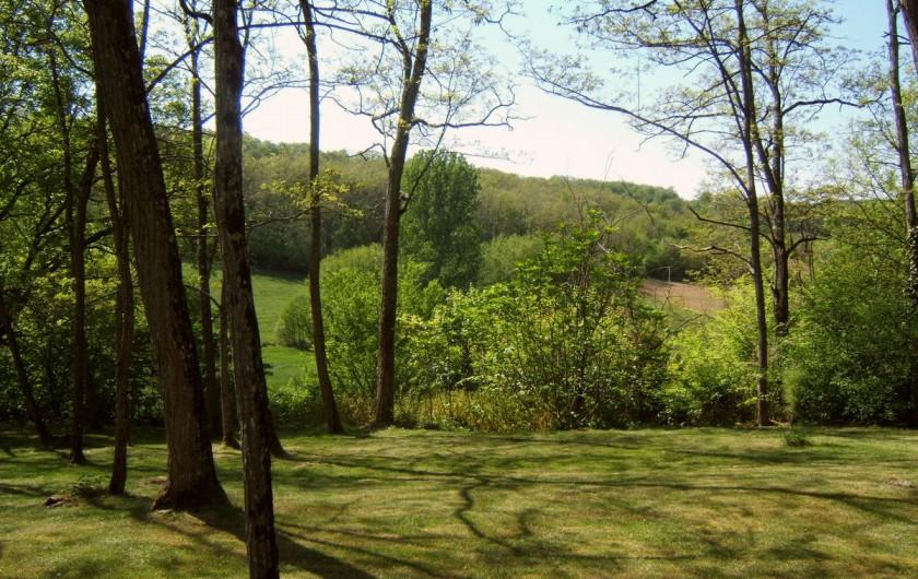 Location de vacances - Villa à Marsolan - Le côteau d'en face, depuis la terrasse