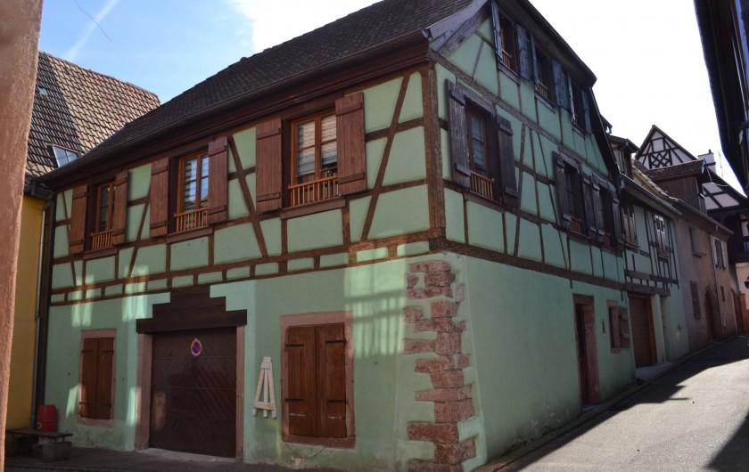 Location de vacances - Gîte à Ribeauville - La Maison