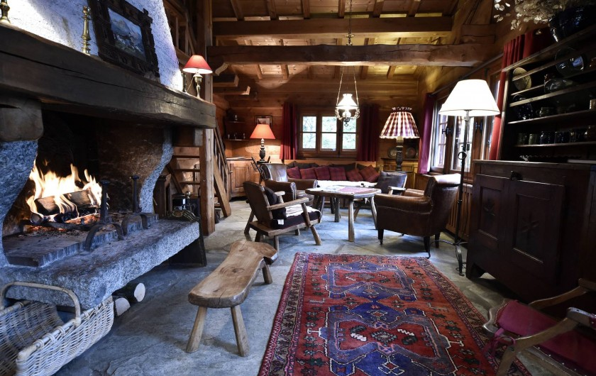 Location de vacances - Chalet à Chamonix-Mont-Blanc - Salle de séjour