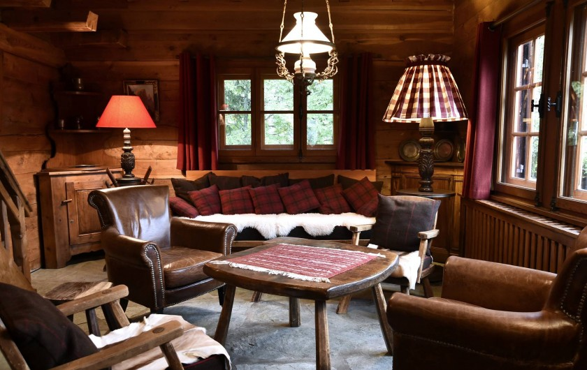 Location de vacances - Chalet à Chamonix-Mont-Blanc - Coin salon