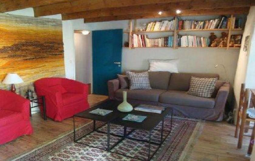 Location de vacances - Mas à Beaumont - coin salon 2 ou chambre 5