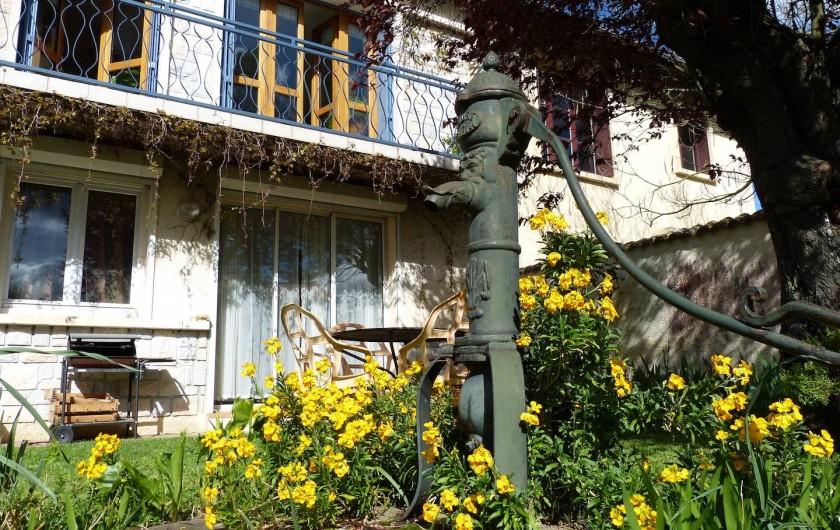 Location de vacances - Appartement à Toulouse - Appartement avec jardin