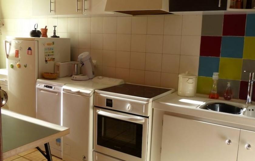 Location de vacances - Appartement à Toulouse - Equipement cuisine