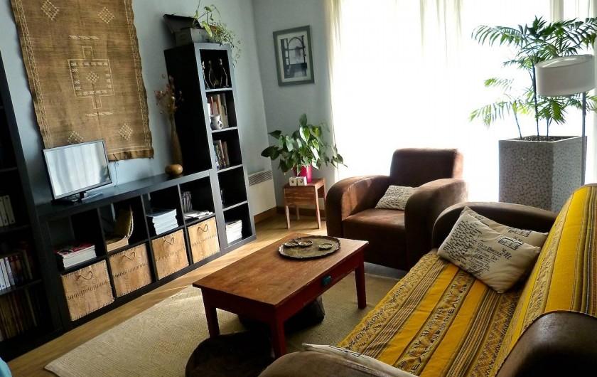 Location de vacances - Appartement à Toulouse - Salon