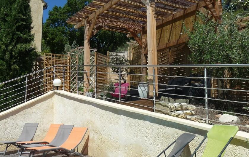 Location de vacances - Gîte à Aubres - Pergola