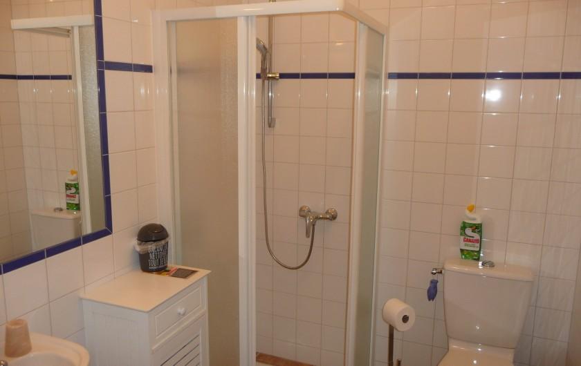 Location de vacances - Gîte à Aubres - Salle de bain WC