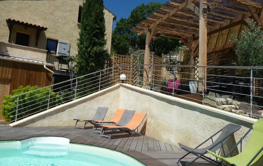 Location de vacances - Gîte à Aubres - Gîte Piscine Pergola
