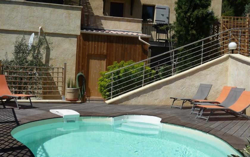 Location de vacances - Gîte à Aubres - Piscine
