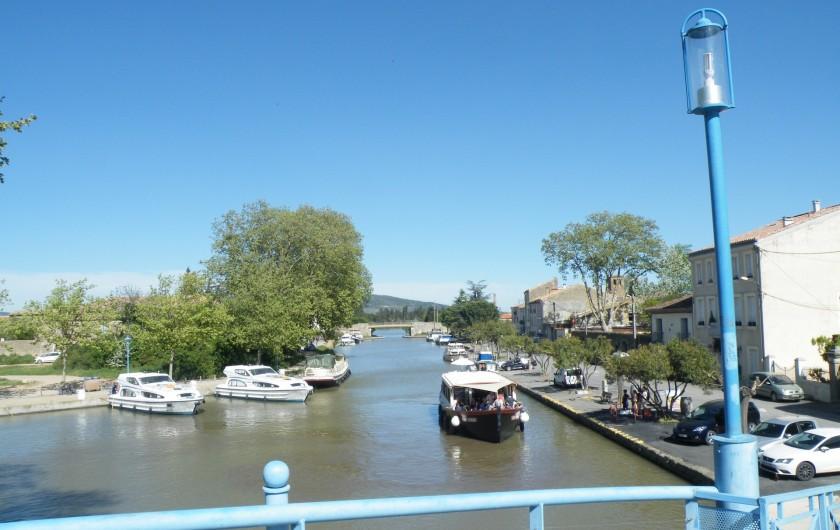 Location de vacances - Villa à Homps - Canal du midi
