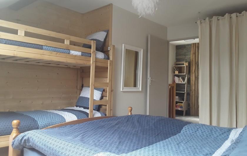 Location de vacances - Appartement à Gérardmer - chambre