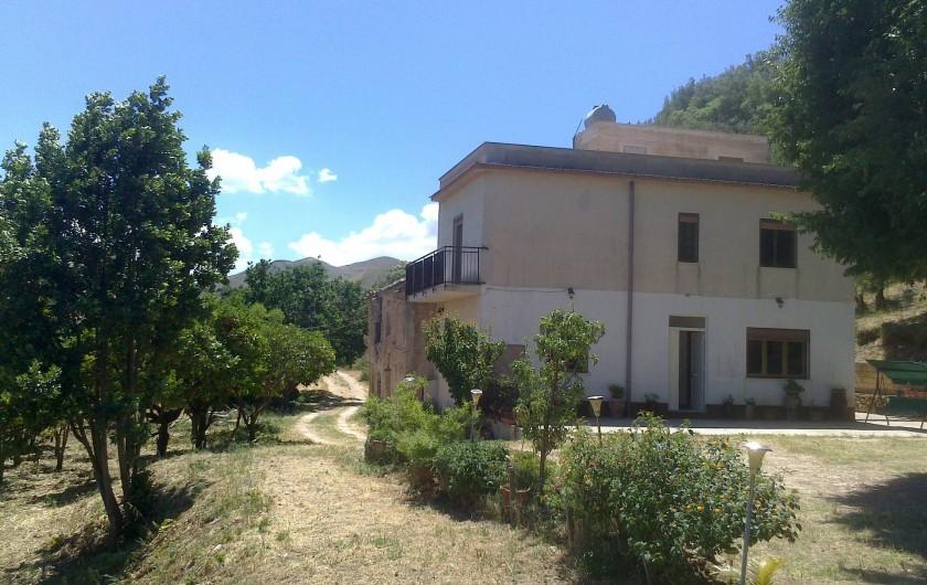Location de vacances - Villa à Calatafimi - La maison Gelferraro