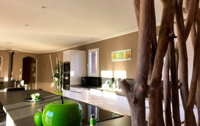 Location de vacances - Villa à Rousson - La pièce bureau