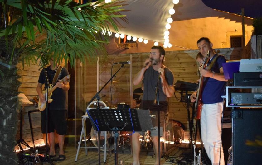 Location de vacances - Camping à Surgères - Soirée musicale