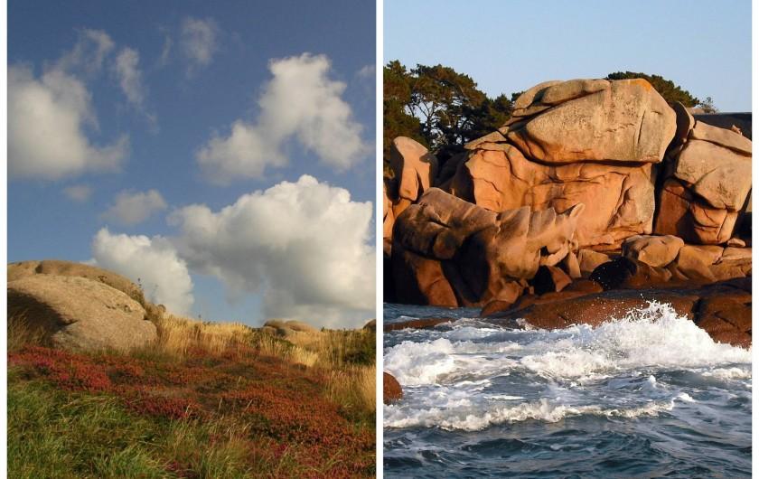 Location de vacances - Gîte à Perros-Guirec - Terre et mer pour les gîtes tiploum, Bretagne, france