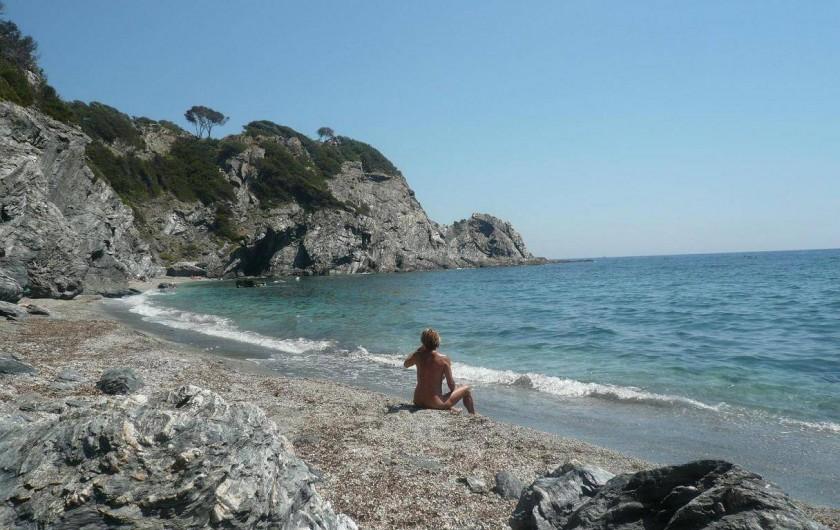 Location de vacances - Appartement à La Ciotat - Calanque, avec plage, naturiste