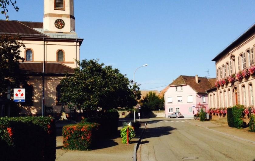 Location de vacances - Appartement à Oberhergheim - Le village d'Oberhergheim