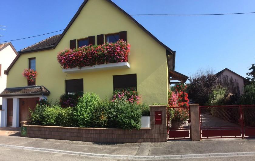 Location de vacances - Appartement à Oberhergheim - La Maison