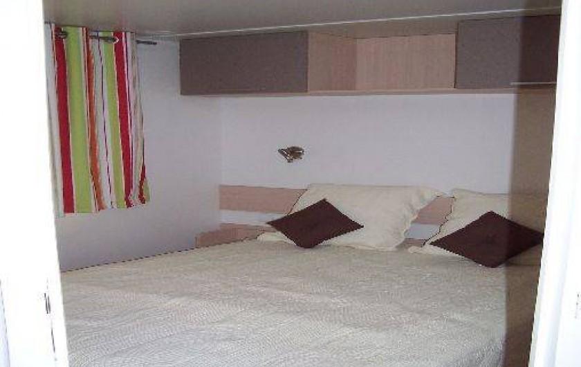 Location de vacances - Bungalow - Mobilhome à Saint-Denis-d'Oléron - chambre 1 pour couple