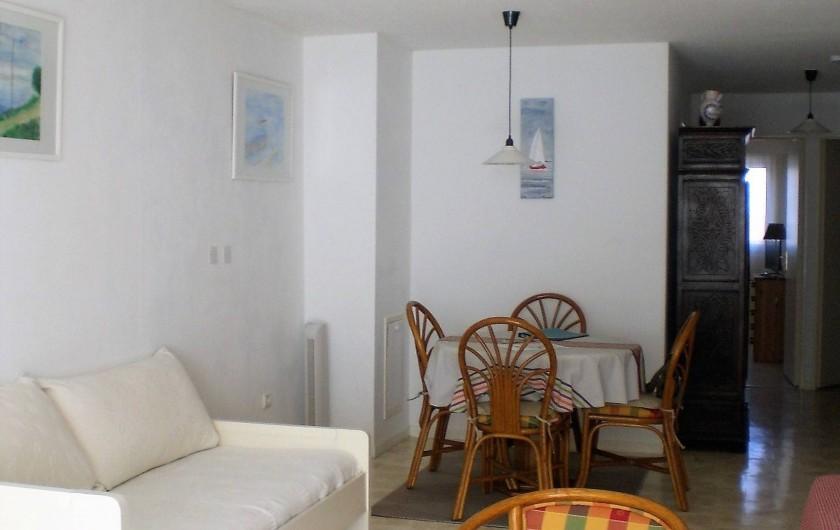 Location de vacances - Appartement à Arcachon - Séjour
