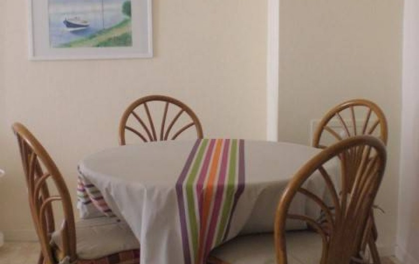 Location de vacances - Appartement à Arcachon - Coin repas