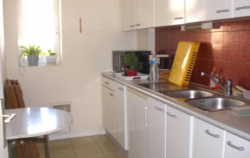 Location de vacances - Appartement à Arcachon - Cuisine