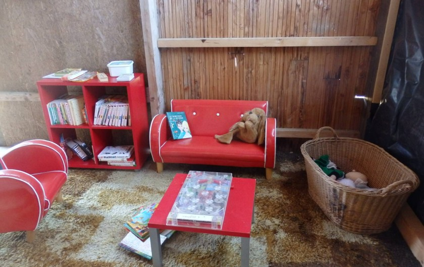 Location de vacances - Gîte à Bouillac - coin jeux pour les petits