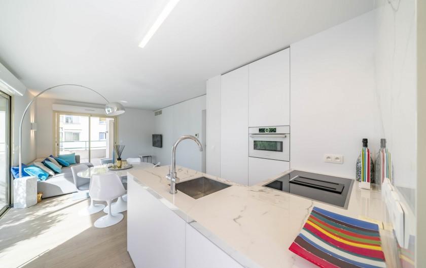 Location de vacances - Appartement à Cannes - Cuisine