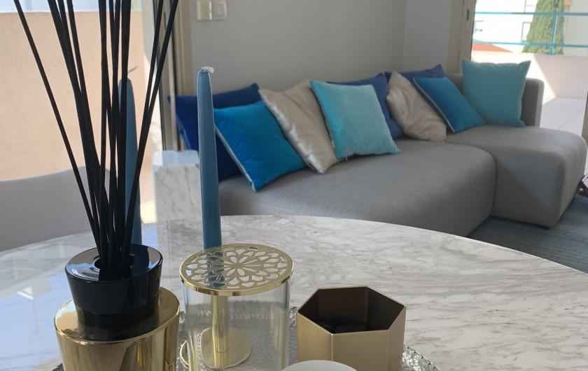 Location de vacances - Appartement à Cannes - Intérieure