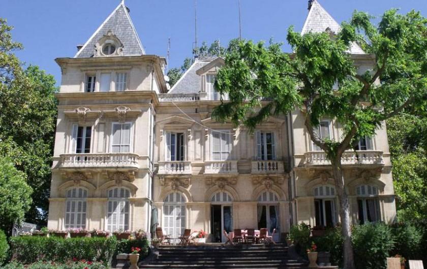 """Location de vacances - Maison - Villa à Bessan - The south terrace """"the place to be""""!"""