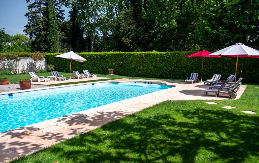 Location de vacances - Maison - Villa à Bessan - the pool area