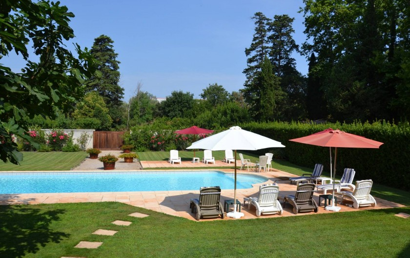 Location de vacances - Maison - Villa à Bessan - Sun or shade you can choose!