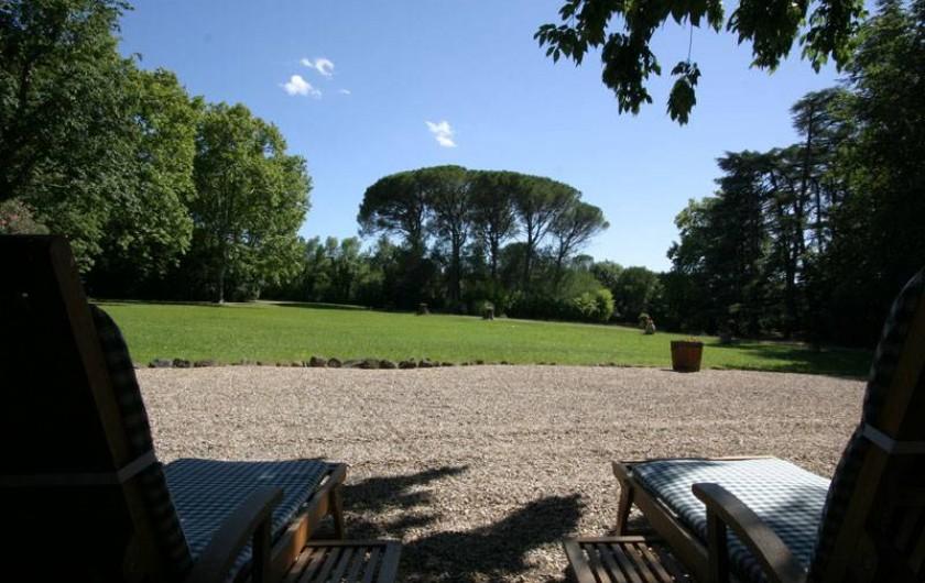"""Location de vacances - Maison - Villa à Bessan - The park for """"divine sieste """""""
